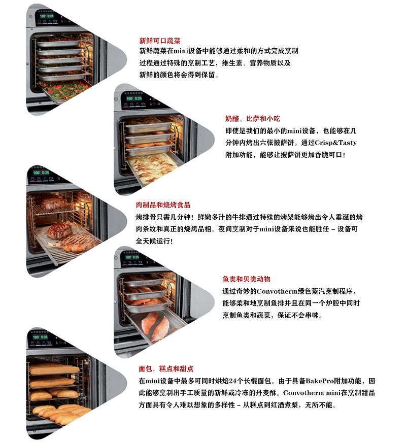 商用多功能蒸烤箱