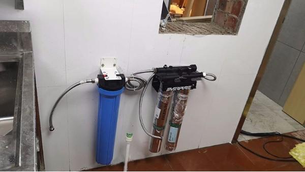 粉之都灵秀店水过滤系统安装案例—【太格机电】