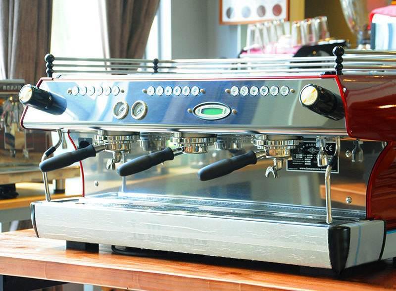 辣妈三头半自动咖啡机